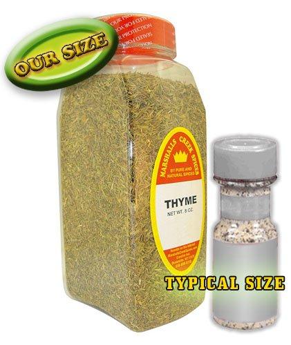 XL Size Marshalls Creek Spices Thyme 8 oz