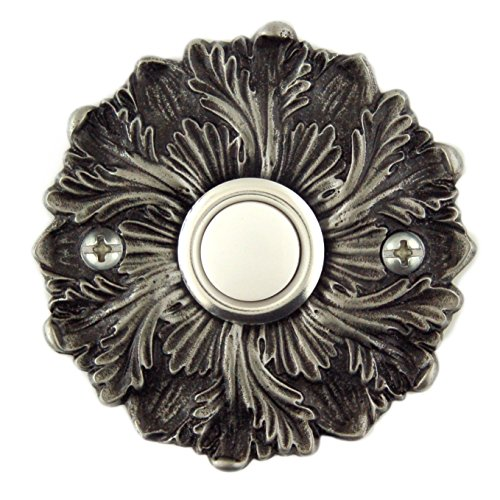 Rosette Decorative Doorbell with lighted button