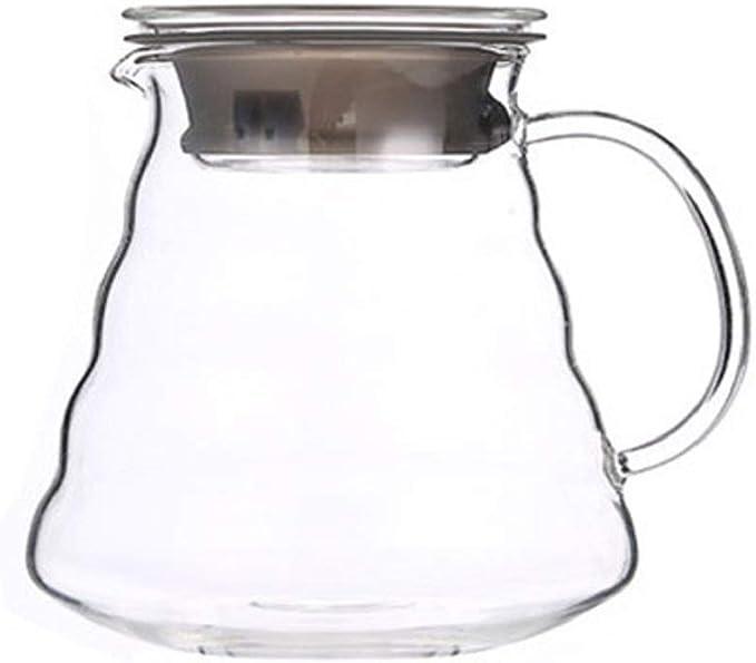 Servidor de café V60 de vidrio de la gama de café, cafetera de ...