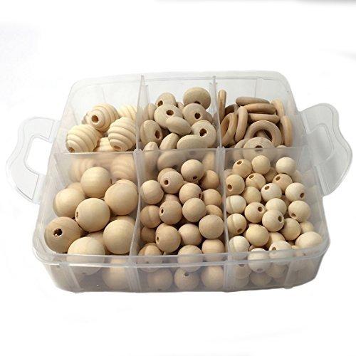 人気 Amyster DIY Nursing Jewelry Combination Package Crochet Package Beads Blending [並行輸入品] Nursing Natural Round Geometry Wooden Beads Wood Ring Creative Freedom [並行輸入品] B078WX2GS8, LOHAS:eb86ccc4 --- a0267596.xsph.ru