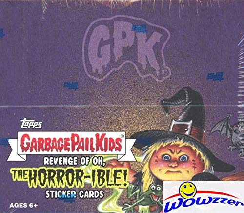 2019 Topps Garbage Pail Kids Series 2 REVENGE of OH, THE HORROR-IBLE! EXCLUSIVE MASSIVE Factory Sealed 24 Pack HOBBY Box with 192 Cards! Look for Autos, Sketch Cards & Printing Plates! WOWZZER!