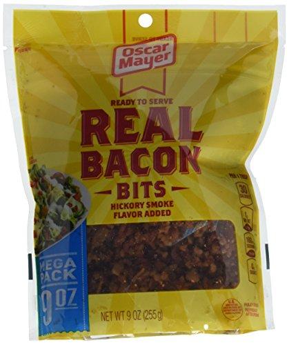 Oscar Mayer Real Bacon Bits, Hickory Smoke, 9 - Real Bacon Pieces