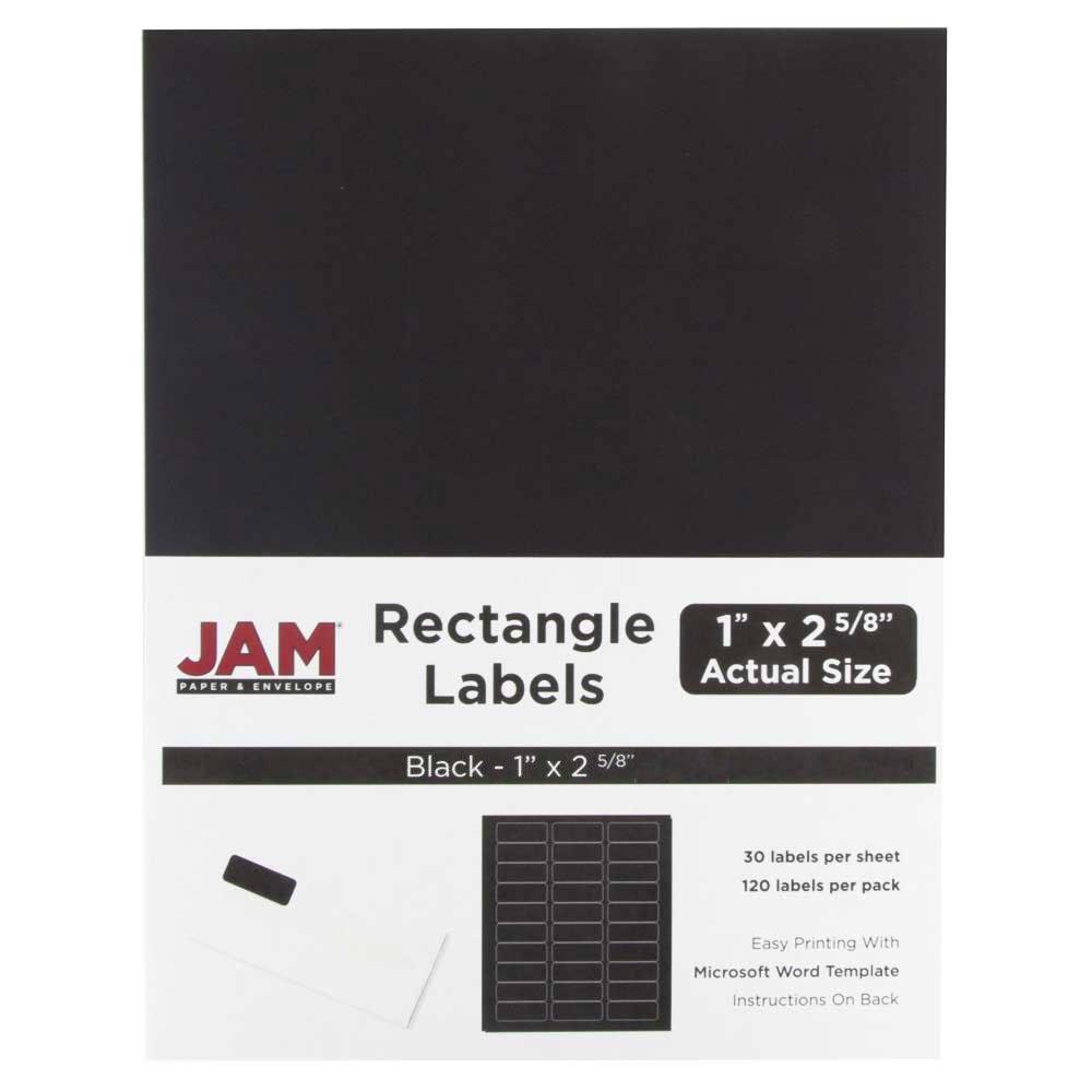 Amazon.com : JAM PAPER Shipping Address Labels - Standard Mailing ...
