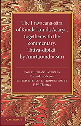 The Pravacana-sara of Kunda-kunda Acarya (Jain Literature Society)