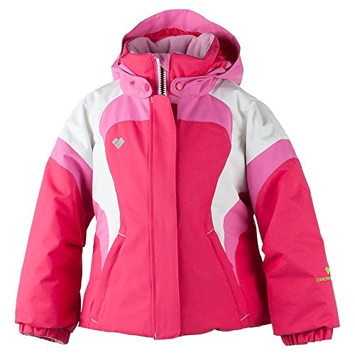 Obermeyer Kids Baby Girl's Alta Jacket (Toddler/Little Kids/Big Kids) Smitten Pink 6 by Obermeyer Kids