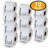 10 Rolls Dymo 30324 Compatible 2-1/8'' x 2-3/4''(54mm x 70mm) Veterinary Diskette Media Labels,Compatible With Dymo 450, 450 Turbo, 4XL And Many More