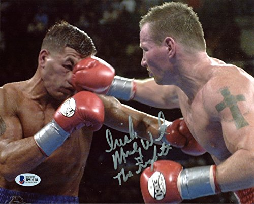 """""""Irish"""" Micky Ward """"The Fighter"""" Boxing Authentic Signed 8X10 Photo BAS #B91018"""