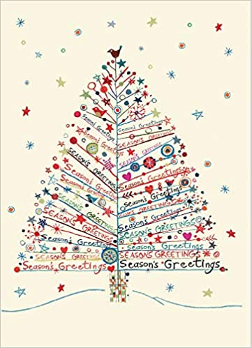 100 Christmas Cards Christmas Pendant Christmas Greeting Cards with Cord 8 Motifs
