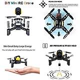 Sahoprt Mini DIY Remote Control RC Pocket Drone Quadcopter Toy For Kid