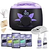 Home Waxing Kit Wax Warmer Hair Removal Waxing Kit - Professional at...
