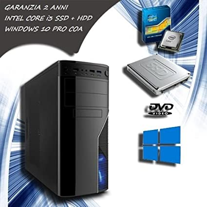 Computer fijo Intel Core i3 PC Desktop SSD 120 HDD 1 TB RAM 8 GB ...