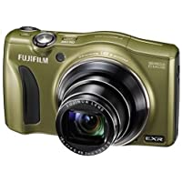 Fujifilm FinePix F820EXR 16MP Digital Camera with 3-Inch LCD (Olive) International model