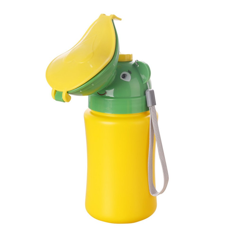 Travel Toilet Potty for Kids, Portable Pee Bottle Training Pee Urinal Emergency Toilet for Camping Traveling(for Boys) FAVOLOOK
