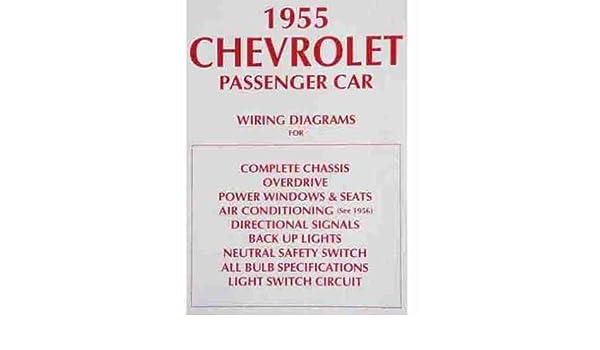 1955 Chevy Light Switch Wiring Diagram