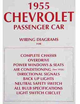 1955 chevrolet cars complete set of factory electrical 55 chevy wiring diagram catalogue of