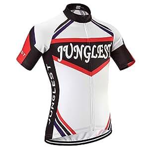 (maillot tamaño:M) Ciclismo aire libre Mangas Jersey al ciclo de cómoda rápido Ropa cortas bicicleta Respirable ciclistas secado jerseys Maillot