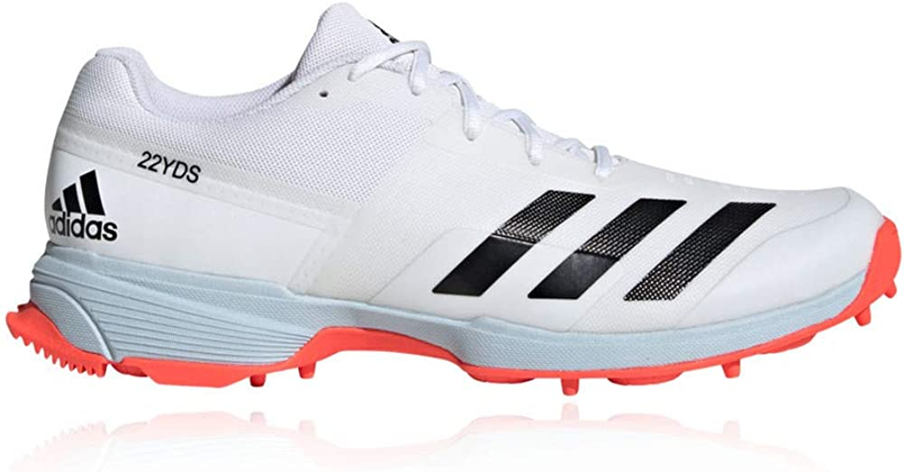 SS20-7 White adidas 22YDS Cricket Spikes