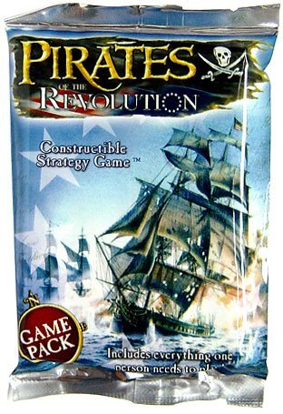 Pirates of the Revolution Unlimited Edition Booster Pack - Constructible Strategy Game by WizKids]()
