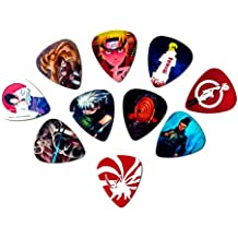 Naruto Guitar Picks (10 medium picks in a packet)