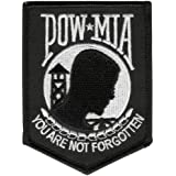 "Hot Leathers Pow Mia Patch (2.5"" Width x 3.5"" Height)"