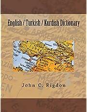 English / Turkish / Kurdish Dictionary