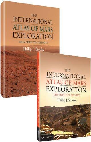 The International Atlas Of Mars Exploration 2 Volume Hardback Set