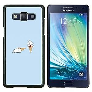 EJOOY---Cubierta de la caja de protección para la piel dura ** Samsung Galaxy A5 A5000 ** --Helado Asesinato divertido