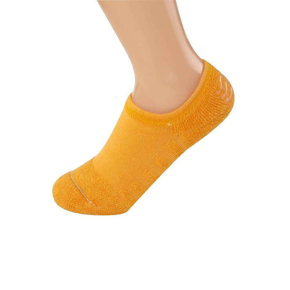 BHYDRY Damas Toalla Parte inferior Barco calcetines Algodón Otoño Invierno Color puro Silicona Antideslizante: Amazon.es: Ropa y accesorios