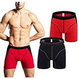 Fedpop Men's Boxer Briefs Cool Underwear Stretch Underpant
