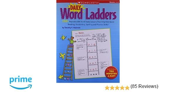 Amazon.com: Daily Word Ladders: Grades 1–2: 150+ Reproducible Word ...