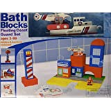 BathBlocks Floating Coast Guard Set