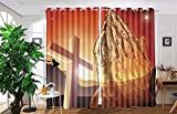 vanfan 2 Panel Set Digital Printed Blackout Window Curtains for Bedroom Living Room Dining Room Kids Youth Room Window Drapes(W54 x L72, Christian cross and praying hands) Review