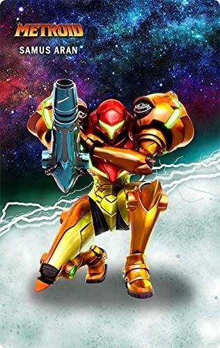 Metroid 4 PCS NFC Tag Cards for Switch、Wii //3DS