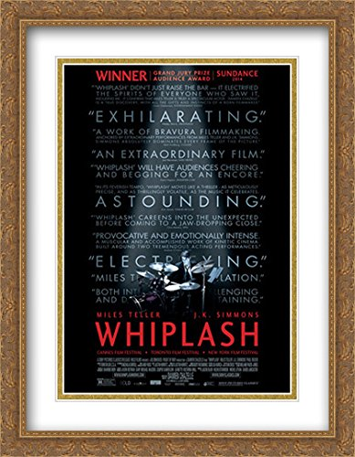 Whiplash 28x36 Double Matted Large Large Gold Ornate Framed