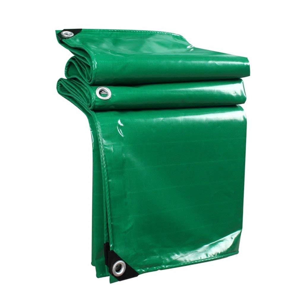 BÂche de prougeection pratique Tissu antipluie imperméable à l'eau rembourré imperméable imperméable à l'eau de prougeection solaire bÂche de camion bÂche de prougeection pare-vent extérieur cou