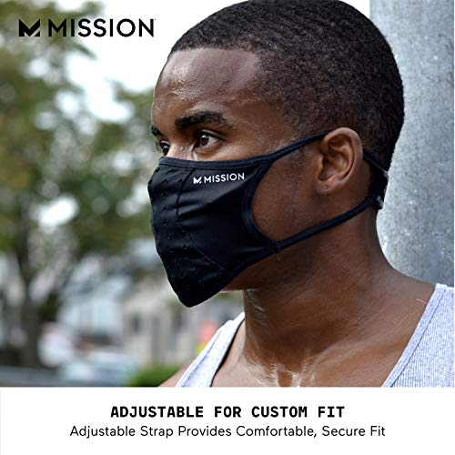 Multi-layered face mask with heat-release technology