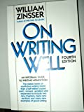 On Writing Well, Zinsser, William K., 0065000269
