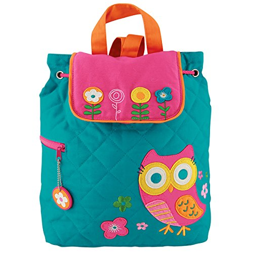Stephen Joseph Quilted Backpack  Owl