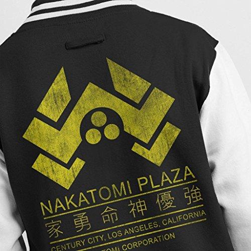 Hard Men's Plaza Die Logo 7 Varsity Jacket Nakatomi City Cloud qtZwff