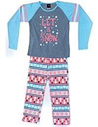 Two Piece Girls Pajamas Set