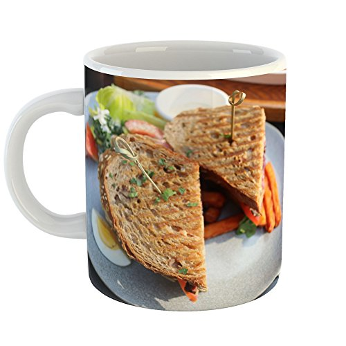 Westlake Art - Coffee Cup Mug - Meat Sandwich - Modern Picture Photography Artwork Home Office Birthday Gift - 11oz (a64z)