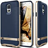 Galaxy S5 Case, Caseology® [Wavelength Series] Textured Pattern Grip Cover [Navy Blue] [Shock Proof] for Samsung Galaxy S5 - Navy Blue