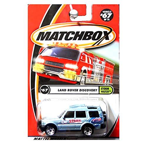2001 Matchbox - Matchbox 2001 Storm Watch Land Rover Discovery Blue 67