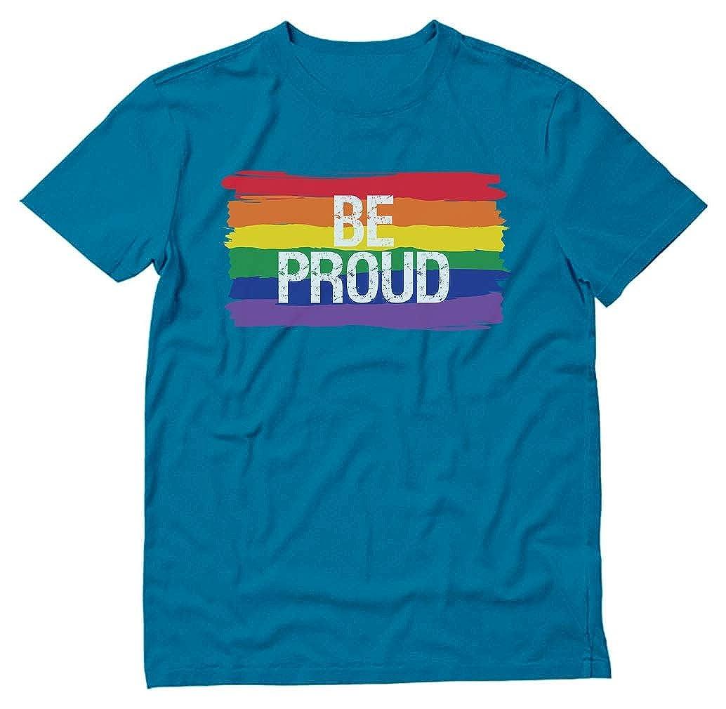 Stars Be Proud Pride Parade Gay Rainbow Flag Shirts