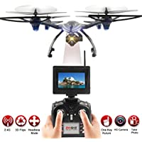 Quadcopter Drone,JXD 506G 2.4G 6-Axis Gyro 5.8G FPV RC Quadcopter Drone With 720P Camera