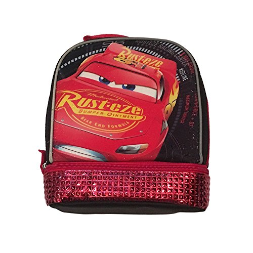 Cars 3 Lightning McQueen Rust-Eze Dual Compartment Lunch Bag