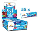 SunRype Fruit Snacks Apple Wildberry Fruit to Go Strips - Nut-Free (Case of 55)