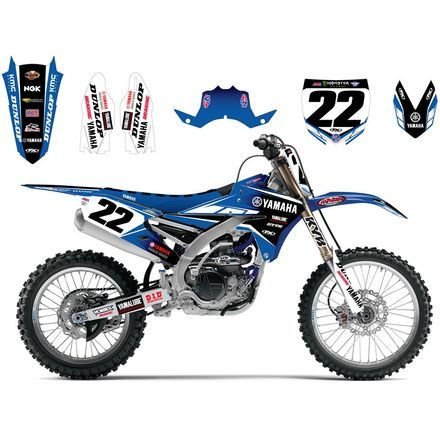 Factory Effex 20-09234 Team Yamaha 2017 Graphics Kit