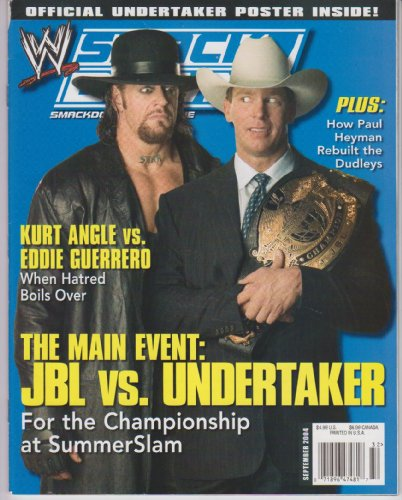 WWE Smackdown Magazine September 2004 ()