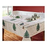 Spode Christmas Tree Tablecloth 60' X 104'